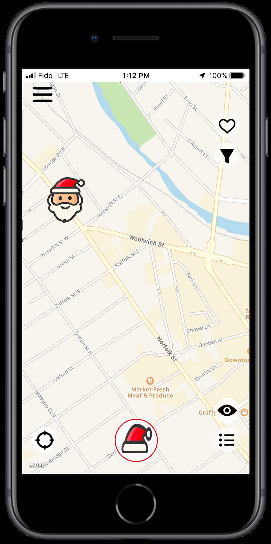 DUX Santa Tracker